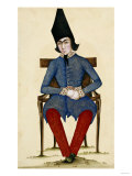 Nasir Al-Din Qajar, as Crown Prince Giclee Print