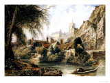 Knaresborough Giclee Print by Peter De Wint