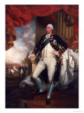 Portrait Of George III, 1790 Lmina gicle por Mather Brown
