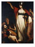 Boadicea Haranguing the Britons Prints by John Opie