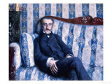 Portrait de Monsieur R, 1877 Giclee Print by Gustave Caillebotte