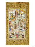 Illustration to the Baburnama Giclee Print