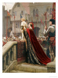 A Little Prince Likely in Time to Bless a Royal Throne, 1904 Reproduction proc&#233;d&#233; gicl&#233;e par Edmund Blair Leighton