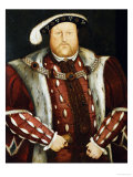 Portrait of King Henry VIII Posters by Hans Holbein the Younger