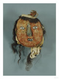 A Nasca Feathered Head Giclee Print