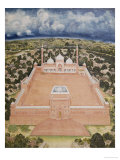 The Great Mosque, Delhi, Company School, Mid 19th Century Giclee Print