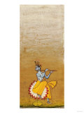 Krishna Fluting Reproduction procédé giclée
