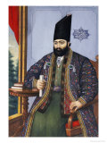 Portrait of Mirza Taqi Khan, Attributed to Muhammad Hasan Afshar, Persia, circa 1850 Giclee Print by Muhammad Hasan Afshar
