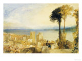 Arona, Lago Maggiore Art by William Turner