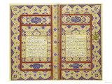 Quran Persia, Zand, AD 1774-1775 Art
