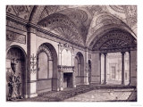 The Third Drawing Room at the Earl of Derby's House in Grosvenor Square Giclee Print by Robert Adam