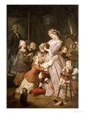 Lotte (Werther's Leiden) Giclée-Druck von Wilhelm Von Kaulbach