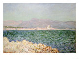 Golfe d&#39;Antibes, 1888 Giclee Print by Claude Monet