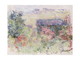 La Maison a Travers Les Roses, circa 1925-26 Gicl&#233;e-Druck von Claude Monet