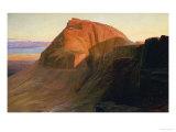 Masada or Sebbeh on the Dead Sea, 1858 Kunstdrucke von Edward Lear