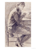 Portrait of an Artist Sketching, 1801 Prints by John Constable