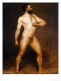 A Male Nude Posters by Hans Von Staschiripka Canon