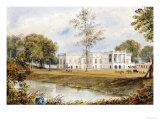 Belvedere House at Alapore Giclee Print by William Prinsep
