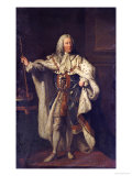 Portrait of King George II Prints by John Shackleton