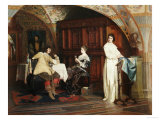 The Courtship, 1879 Giclee Print by Carl Probst