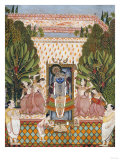 Worship of Shri Nathji, Probably Bundi or Kotah, circa 1825-50 Prints