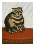 Le Chat Tigre Prints by Henri Rousseau