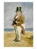 Full Length Portrait of Joseph Mallord William Turner, R. A. (1755-1851) Prints by Charles Martin