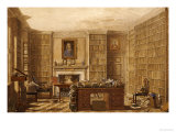 Study of an Academic or a Lawyer, Around 1840 Premium Giclee Print by George Pyne