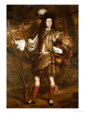 A Highland Chieftain: Portrait of Lord Mungo Murray (1668-1700) Reproduction procédé giclée par John Michael Wright