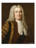 Portrait of Sir Robert Walpole, 1st Earl of Orford (1676-1745) Giclée-Druck von Jean Baptiste Van Loo
