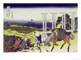 Senju in Musashi Province Prints by Katsushika Hokusai