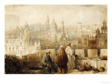 Xerex (Jerez) from the Ramparts, 1835 Print by David Roberts