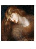 Aspecta Medusa, 1867 Art by Dante Gabriel Rossetti