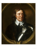 Portrait of Oliver Cromwell (1599-1658) Print by Sir Peter Lely