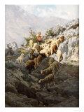 La Pastorella Giclee Print by Pietro Barucci