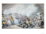 The Irish Steam Packet Prints by Thomas Rowlandson