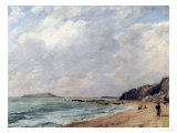 A View of Osmington Bay, Dorset, Looking Towards Portland Island Giclee Print by John Constable