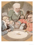 A Game of Dice Prints by Thomas Rowlandson