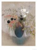 Flowers in a Vase Giclée-Druck von Odilon Redon