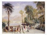 Windermere During the Regatta, 1832 Giclee Print by David Cox