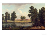 View of St. James's Park with Westminster Abbey Beyond Posters by John Inigo Richards