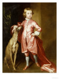 Portrait of a Young Boy Poster by Robert Byng