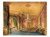 A Regency Interior, 1819 Giclee Print by Robert Hughes