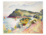 The Black Cape, Pramousquier Bay, 1906 Giclee Print by Henri Edmond Cross