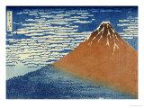 Fine Wind, Clear Weather Poster von Katsushika Hokusai