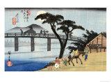 Nagakubo Giclee Print by Ando Hiroshige