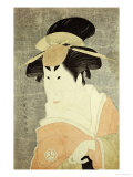 Portrait of the Actor Osagawa Tsuneyo II Giclee Print by  Toshusai Sharaku