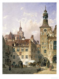 The Old Town Hall, Munich Giclee Print by Friedrich Eibner