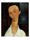 Lunia Czechowska, circa 1917-18 Art by Amedeo Modigliani