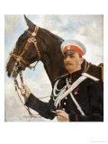 Portrait of Prince Feliks Feliksovich Iusopov, Count Sumarokov-El'ston, 1909 Prints by Valentin Aleksandrovich Serov
